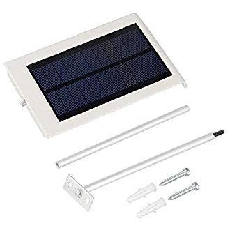 FAMI Solar Lights Outdoor,Wireless Solar Gutter Lights,Waterproof Lights,Waterproof Secu