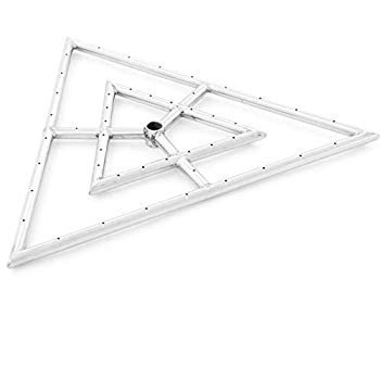 Lakeview Outdoor Designs 24-Inch Propane Triangle Burner - Stainless S