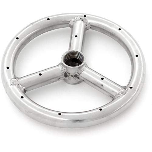 Lakeview Outdoor Designs 6-Inch Three-Spoke Round Propane Single-Ring