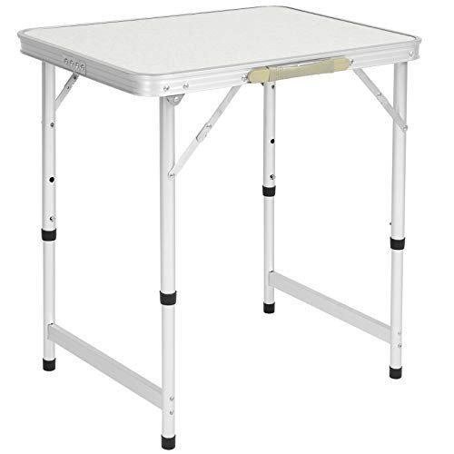 Best Choice Products Aluminum Camping Picnic Folding Table Portable Ou