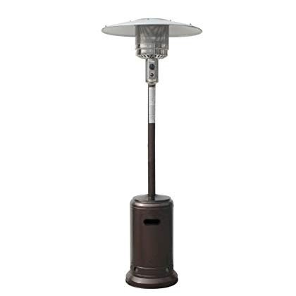 Palm Springs Hammered Bronze Commercial Outdoor Garden Patio Heater