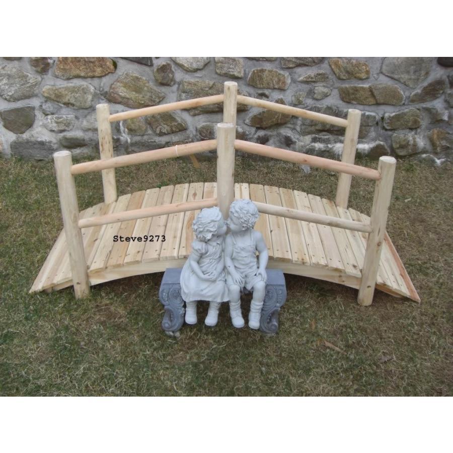 5 Foot Wood Wooden Bridge -