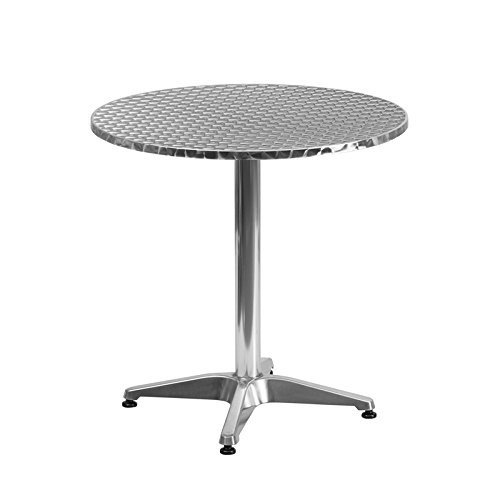 Flash Furniture 27.5'' Round Indoor-Outdoor Table with with Base