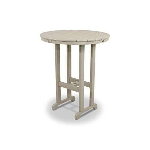 Trex Outdoor Monterey Bay Round Bar Table Table Size: 36