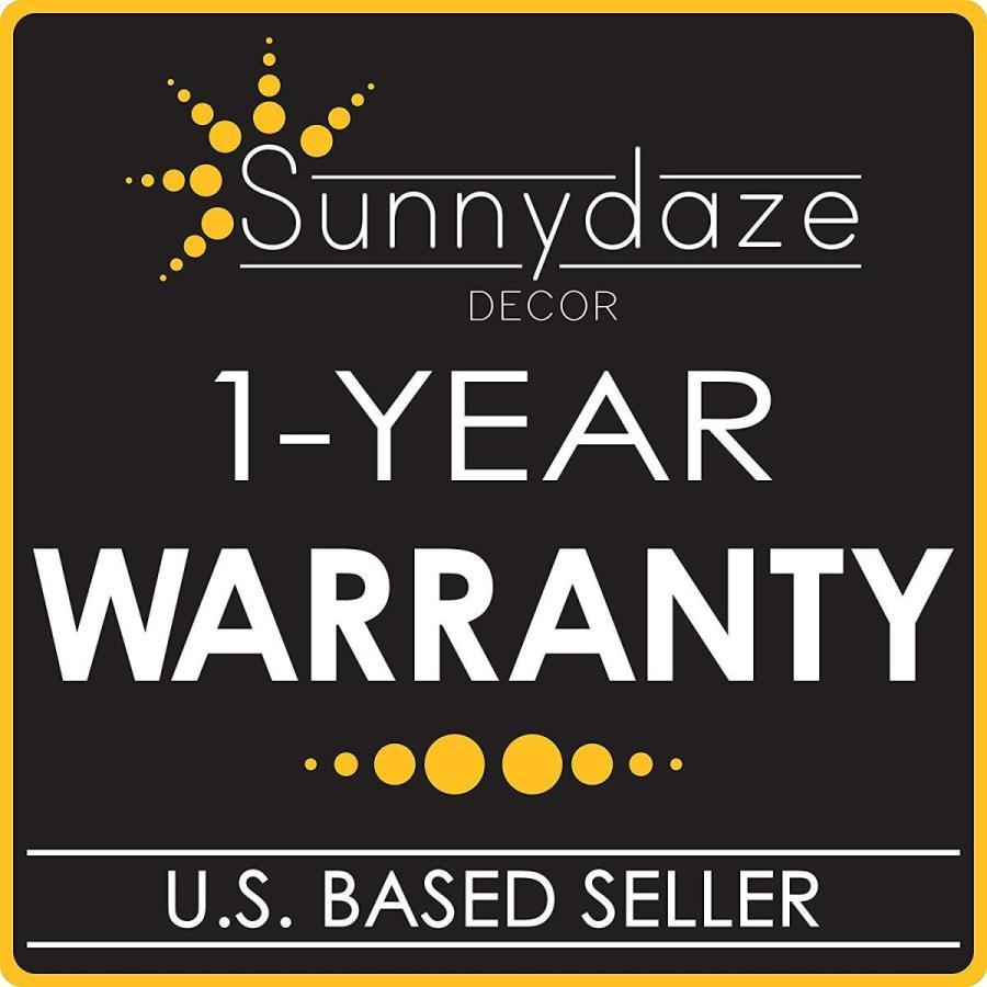 Sunnydaze Outdoor Patio Umbrella Lights, Cordless 24 LED, 2 Panel Batt