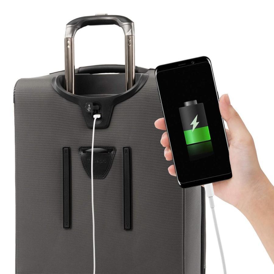 Travelpro Carry-On Maximum Capacity, Titanium グレー