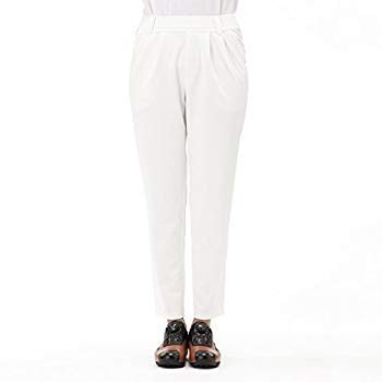 MU SPORTS Golf Wear Men's Long Pants, 白い, 42