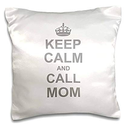3dRose Keep Calm and Call Mom - funny carry on parody for mommy mama g