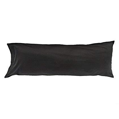 Sleep Solutions Body Pillow Case, 黒