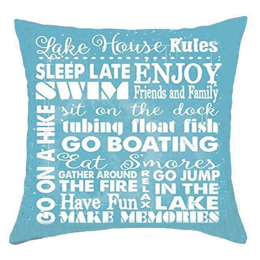 Bnitoam Life Sentiment Phrases Lake House Rules Sleep Late Enjoy Swim