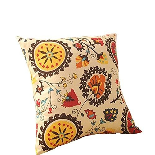 Aothpher Modern Boho Floral Pattern Holiday Throw Pillow Pillow Pillow Cover Pillow 9af