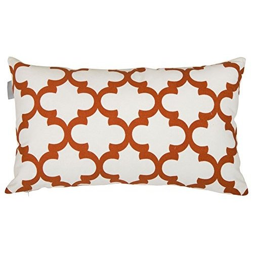 Accent Home Printed Cotton Cushion Cover,Throw Pillow Case, Slipover P