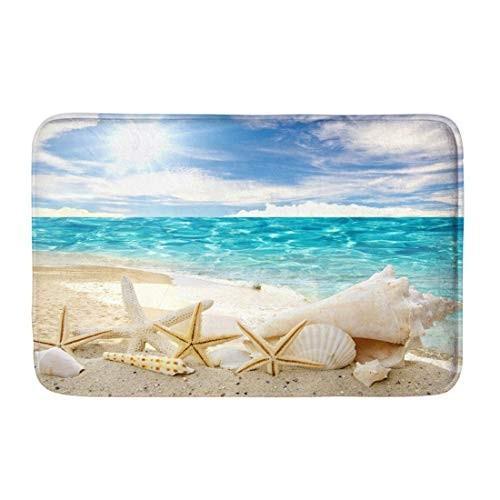 Coloranimal Doormat Beauty Beach Seascape Door Mats Non Slip Machine W