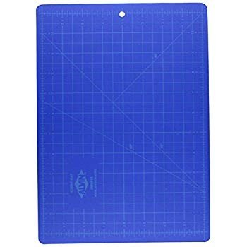 Alvin HM0812 青/Gray Self-Healing Hobby Mat, 8 1/2 X 12