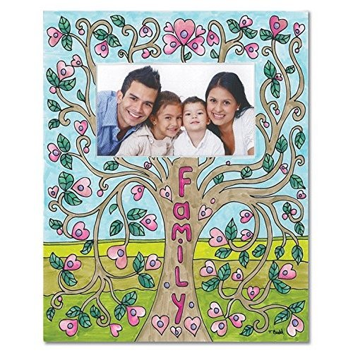 Family Tree Coloring Mat - 8