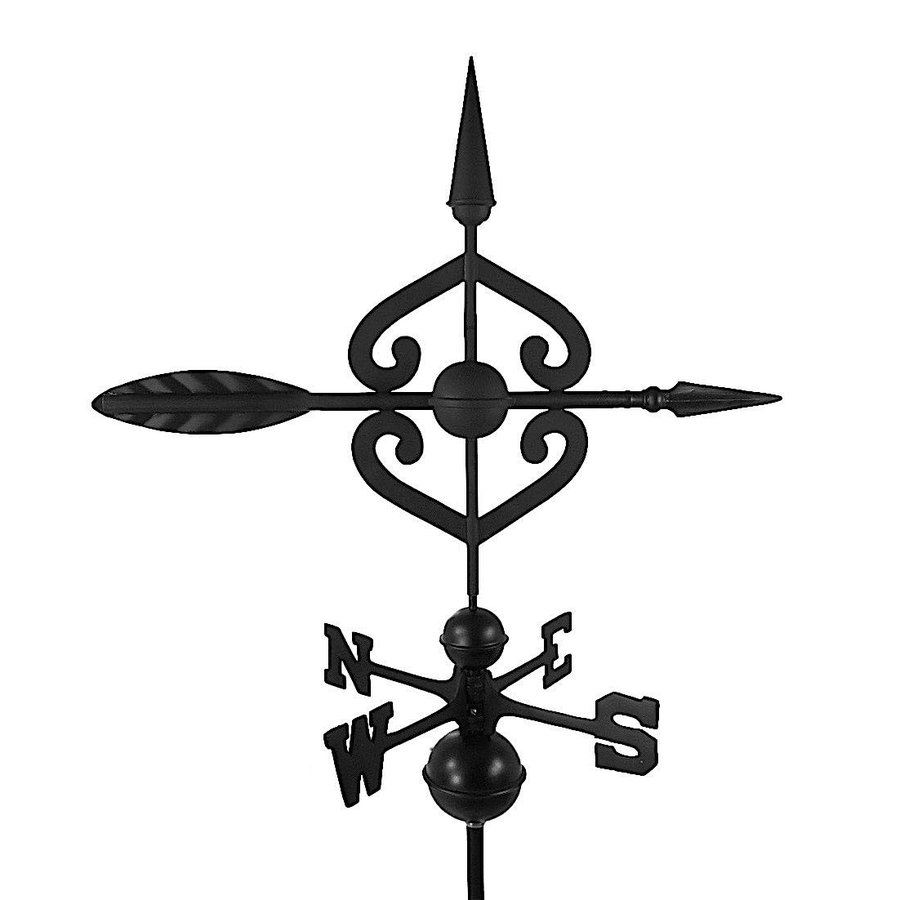 Dalvento 208B Scrolled Arrow Weathervane Aluminum with Traditional Dir