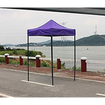 OTLIVE 5'x5' Easy Up Canopy Tent Commercial Event Adjustable Portable