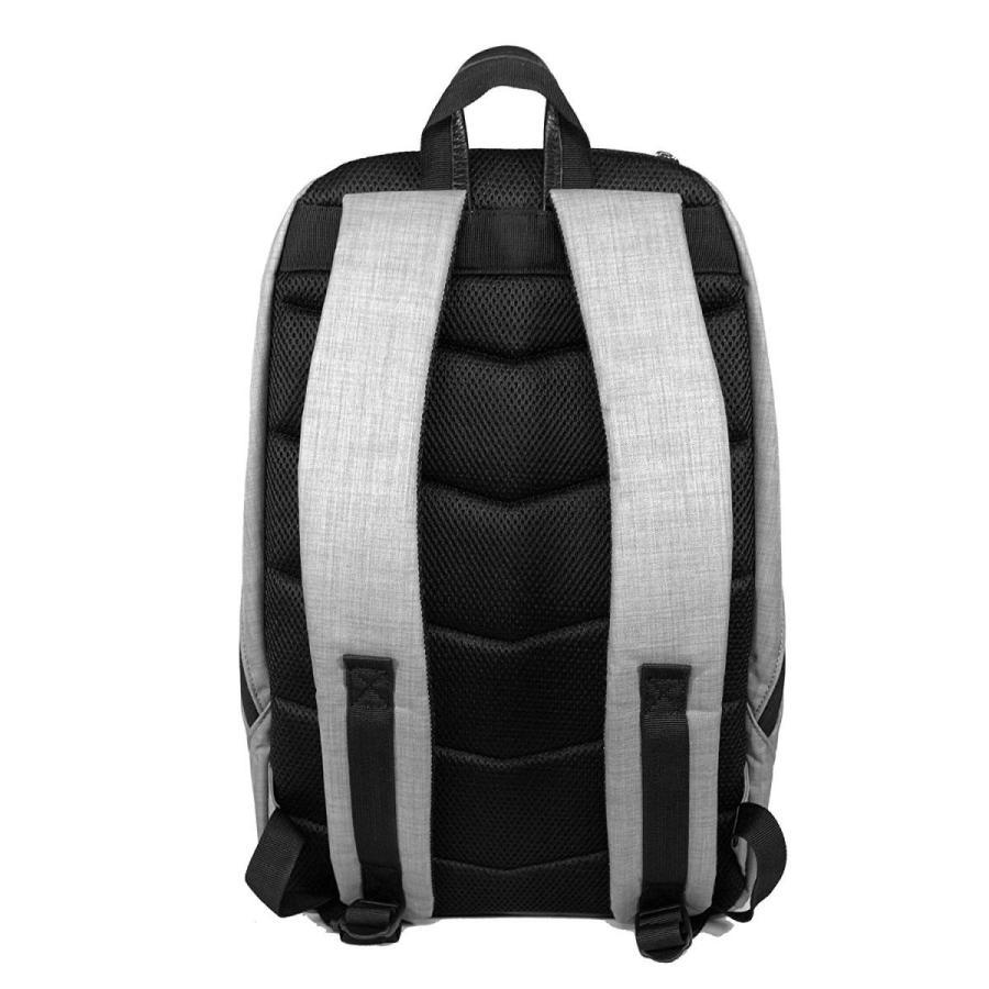 Harvest Label Connect Minimalist Archer Laptop Backpack (グレー)