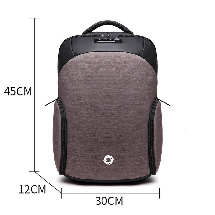 35L Travel Laptop Backpack Anti-Theft Water Resistant Business Backpac