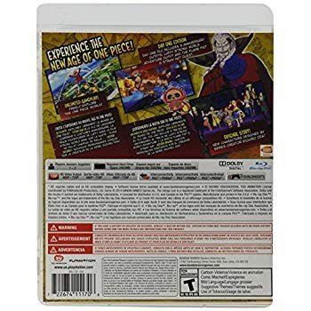 One Piece Unlimited World 赤: Day 1 Edition - PlayStation 3
