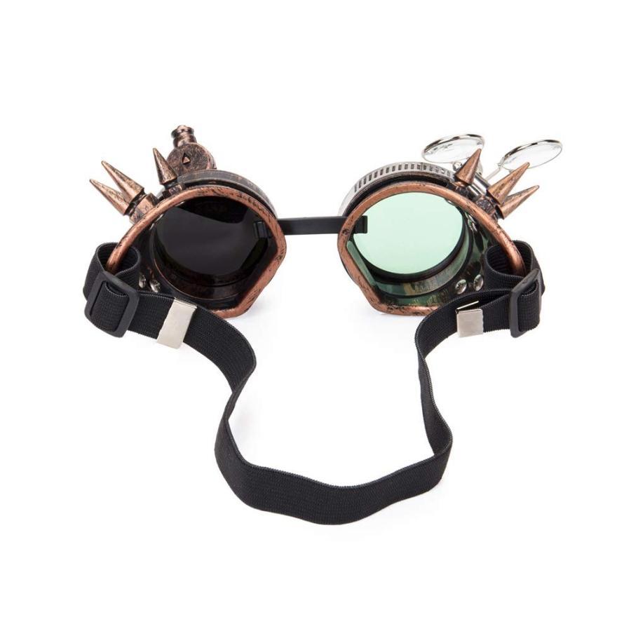 Lelinta Victorian Style Steampunk Goggles Ocular Loupe Eyewear Costume