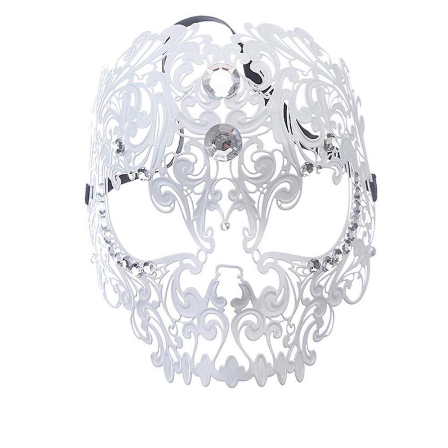 Rehoty Devil Full Face Skull Masquerade Mask Men Women Halloween Party