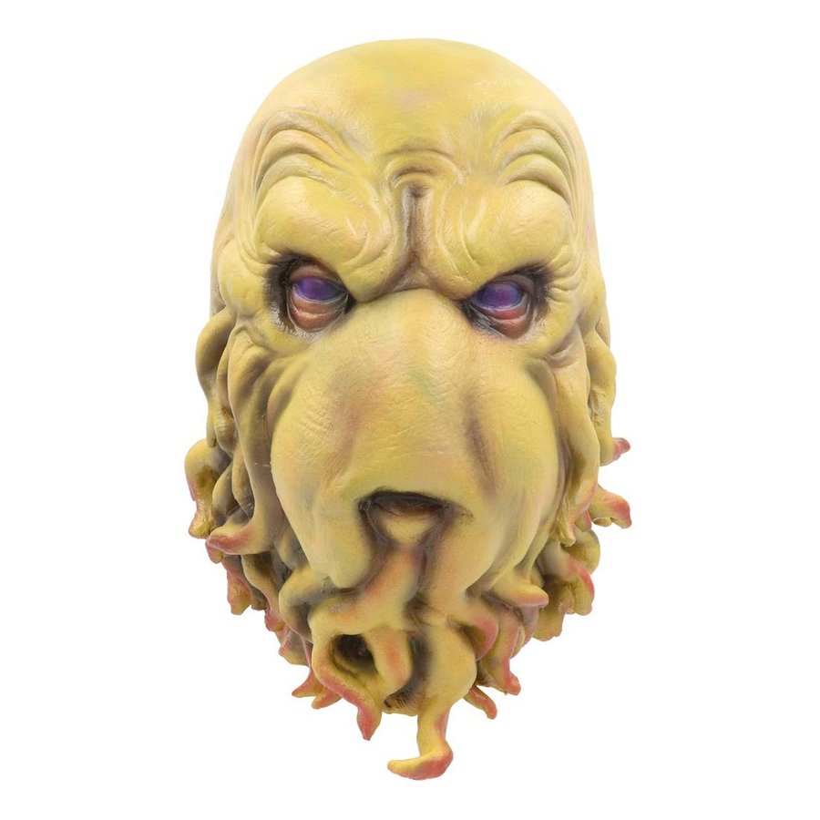 Halloween Cthulhu Costume Latex Mask for Party Cosplay Props