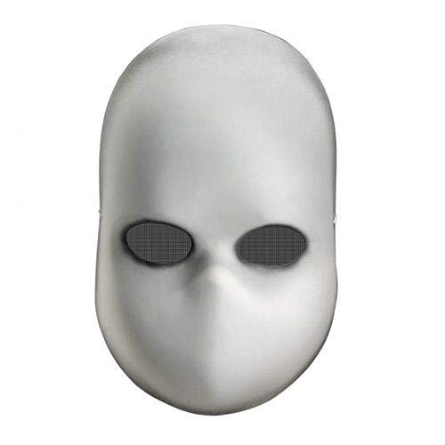 Disguise Creepy 白い Blank Doll Face Adult Halloween Costume Mask