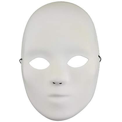 MaskIt 91100 8-1/2-Inch Full Mask Embellishment, Bulk
