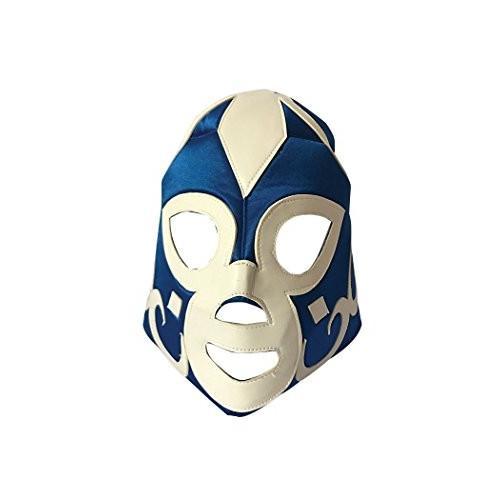 Forum Novelties Men's Wrestling Mask, 青, Standard