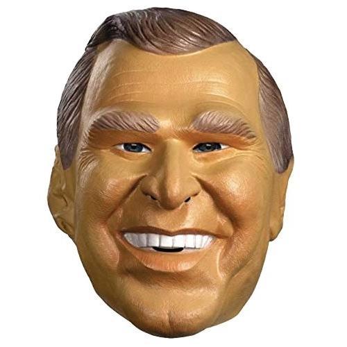 UHC Men's George Bush Jr. Political Funny Party Vinyl Halloween Costum