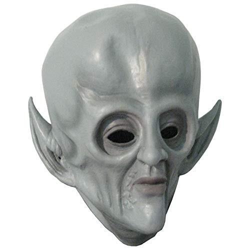 Big Head Gray Alien Spaceman Adult Halloween Costume Mask