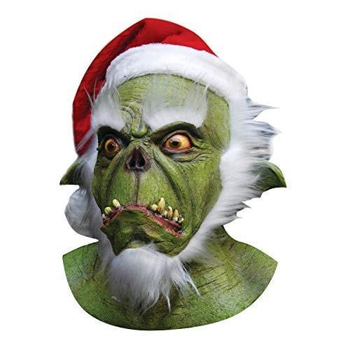 緑 Santa Grinch Mask