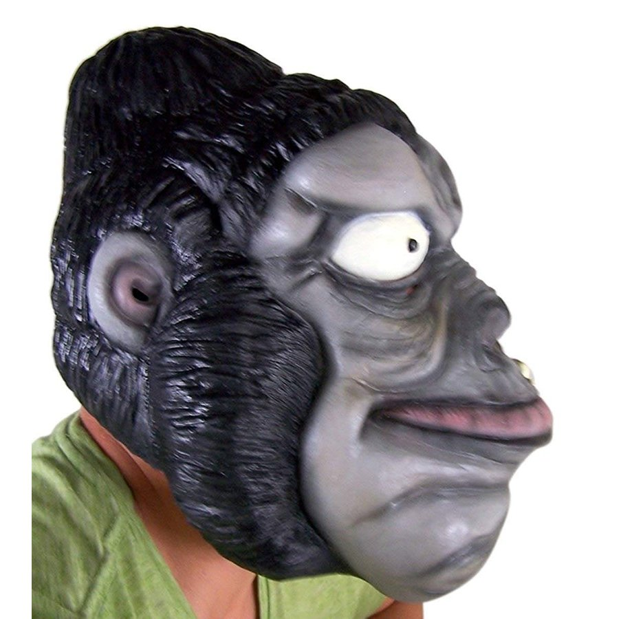 Large Gorilla Full Latex Face Mask for Adults