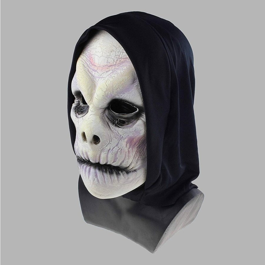 Horror Demon Mask Evil Wizard Face Disguise Halloween Costume Party (W