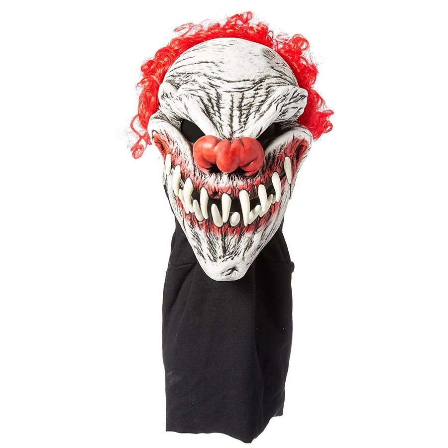 Zagone Last Laugh Mask, 赤 Hai赤 Evil Clown, Large Teeth