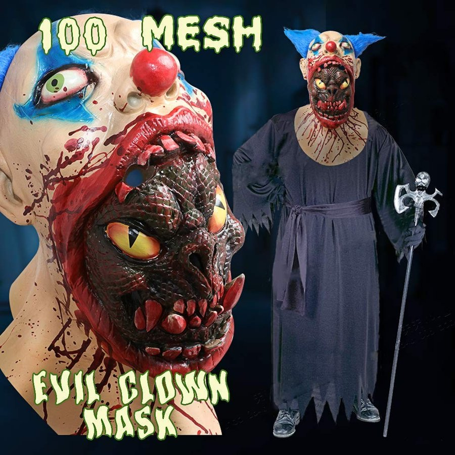 Scary Halloween Costume Party Animal Head Mask Zombie Horror face mask