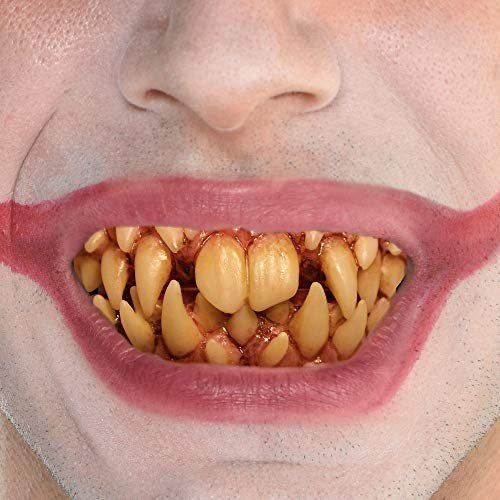 Trick Or Treat Studios It Pennywise Fang Teeth for Adults, One Size, C