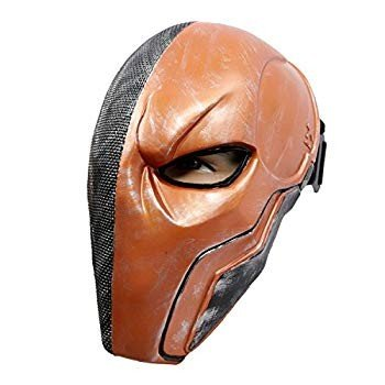 Xcoser Deathstroke Mask Helmet オレンジ V5 Newest version Adult