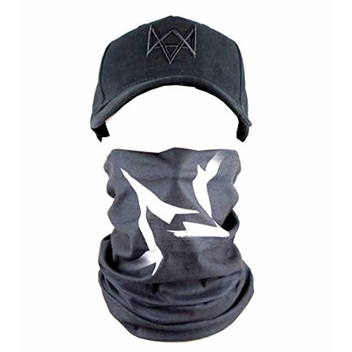 Oem Men's Watch Dogs Face Mask One Size 黒