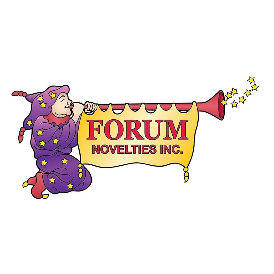 Forum Comedy Mask, ゴールド, One Size