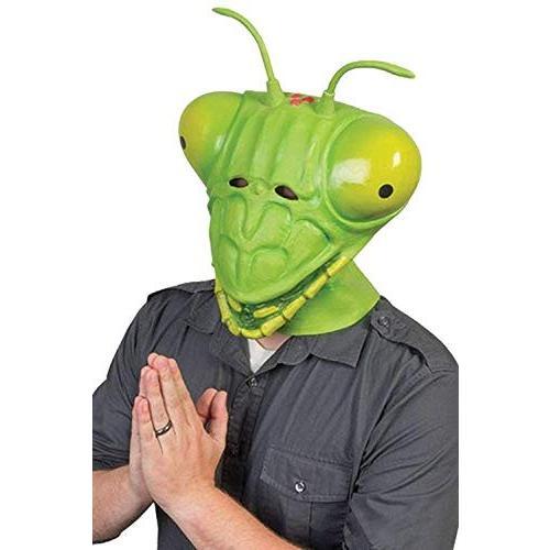 HAOCOS Adult Mantis Mask Cosplay Props Animal Latex Full Head Mask