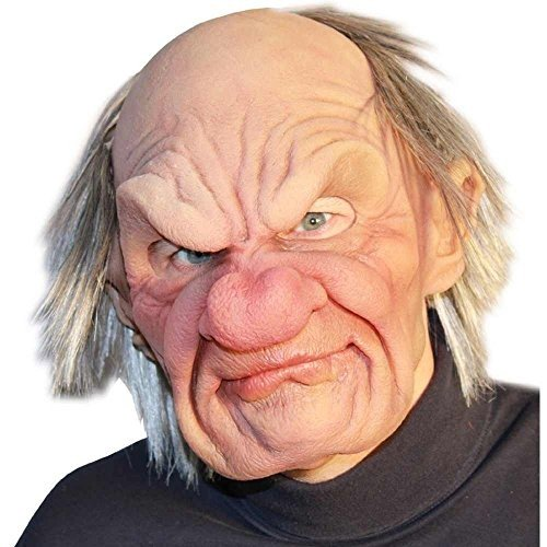 Super Soft Grumpy Old Man Mask