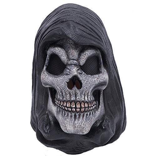 Uniton Horror Mask - Halloween Costume Accessory (Grim Reaper)