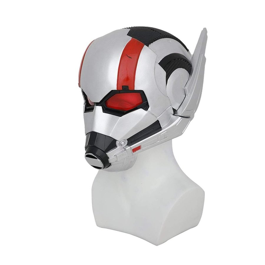 Wasp Ant Man Helmet PVC Full Head with Ears Updated Adult Halloween Co