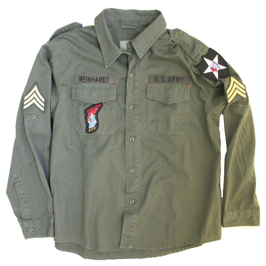 John Lennon Army Jacket Costume - Beatles Revolution Shirt Replica Gre