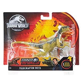 Jurassic World Pack Dino Rivals Velociraptor Delta Jurassic Park Actio