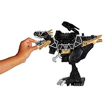 Power Rangers Dino Super Charge - Deluxe 黒 T-Rex Zord Action Figur