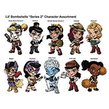 Cryptozoic DC Comics Lil Bombshells Series 2 Vinyl Blindbox 2.5