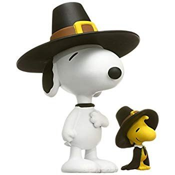 Medicom Peanuts: Pilgrim Snooy & Woodstock Ultra Detail Figure